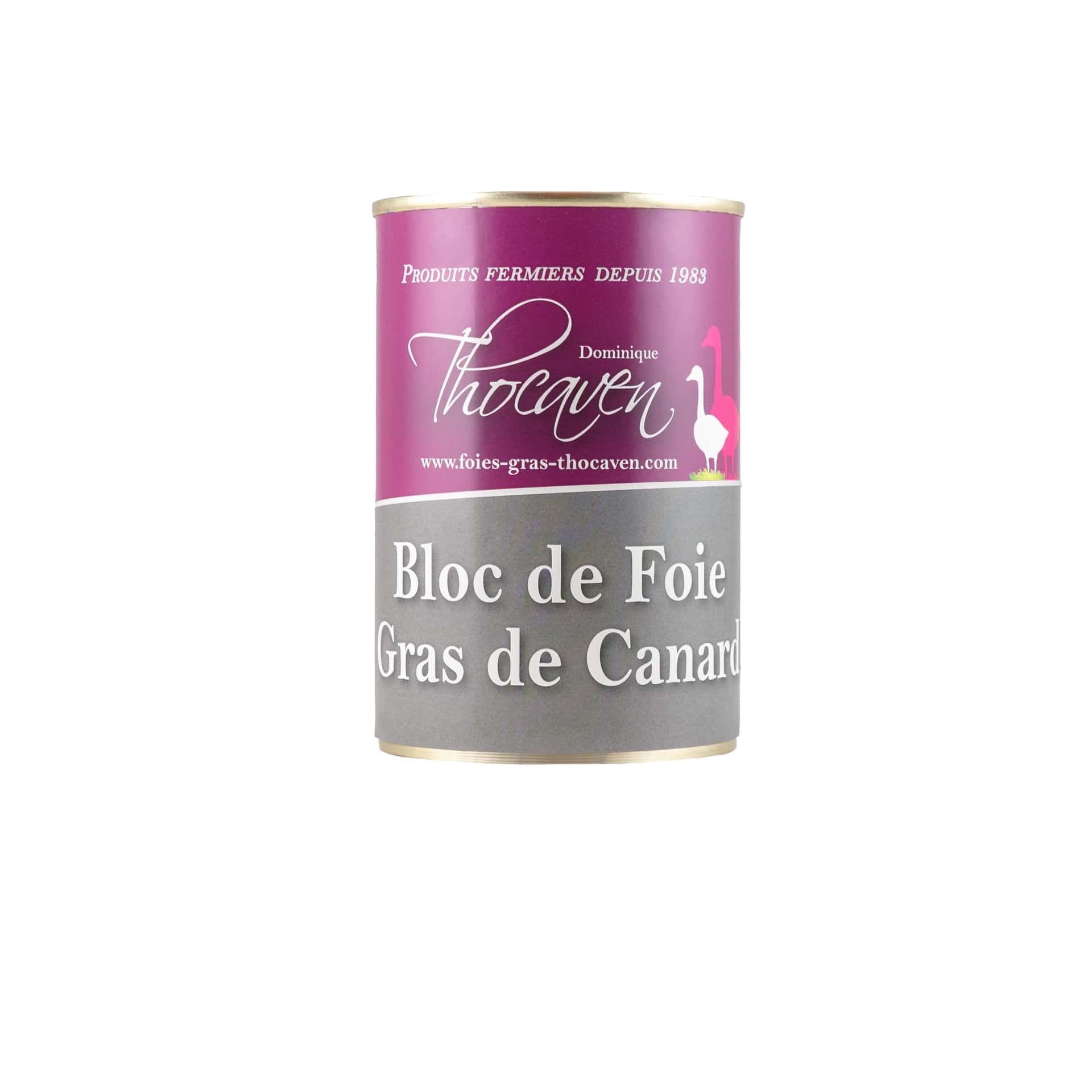 Bloc de foie gras - Fabrication artisanale