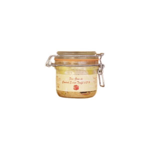 Foie gras truffé - Fabrication artisanale